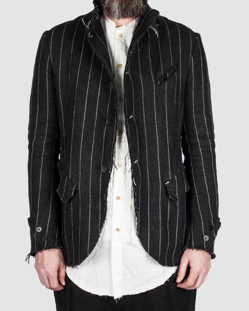 S.S.S.R Venezia - Marc Point - Reversable striped blazer - Stilett
