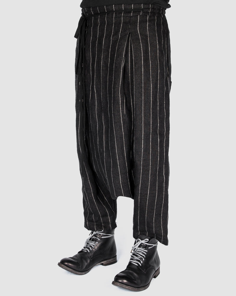 S.S.S.R Venezia - Marc Point - Striped drop crotch pants - Stilett