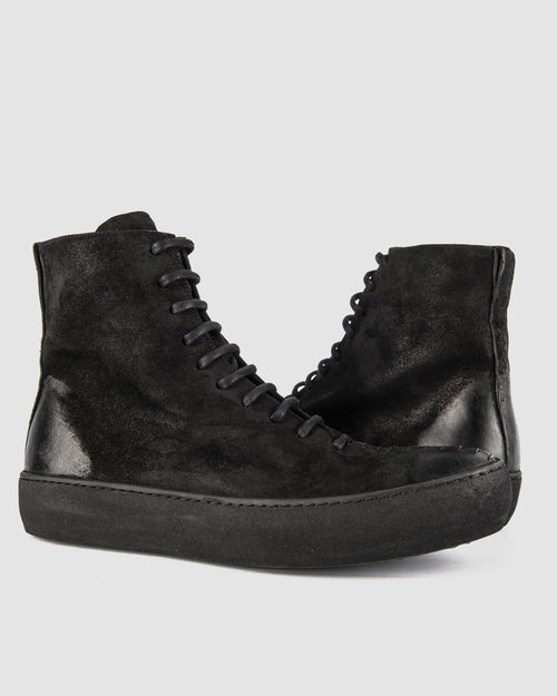 The last conspiracy - Cero waxed suede (zip) - Stilett