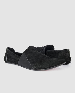 The last conspiracy - Lauf long haired suede black - https://stilett.com/