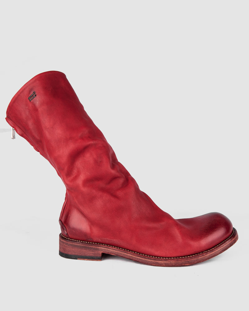 The last conspiracy - Skjold soft leather sole high shaft oxblood - Stilett