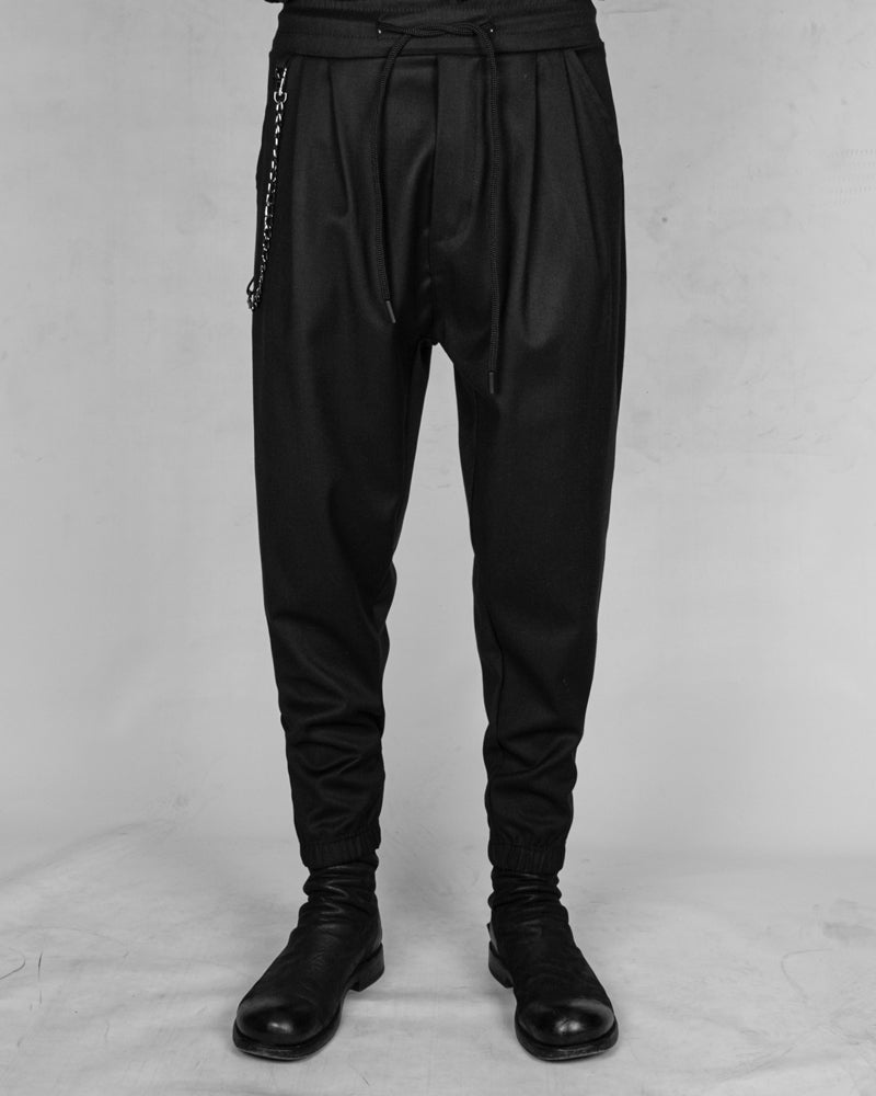 Comfort fit chain trousers