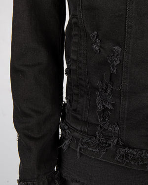 Xagon - Denim sport jacket black - https://stilett.com/