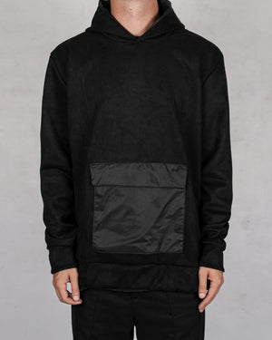 Xagon - Oversize front pocket sweater - https://stilett.com/
