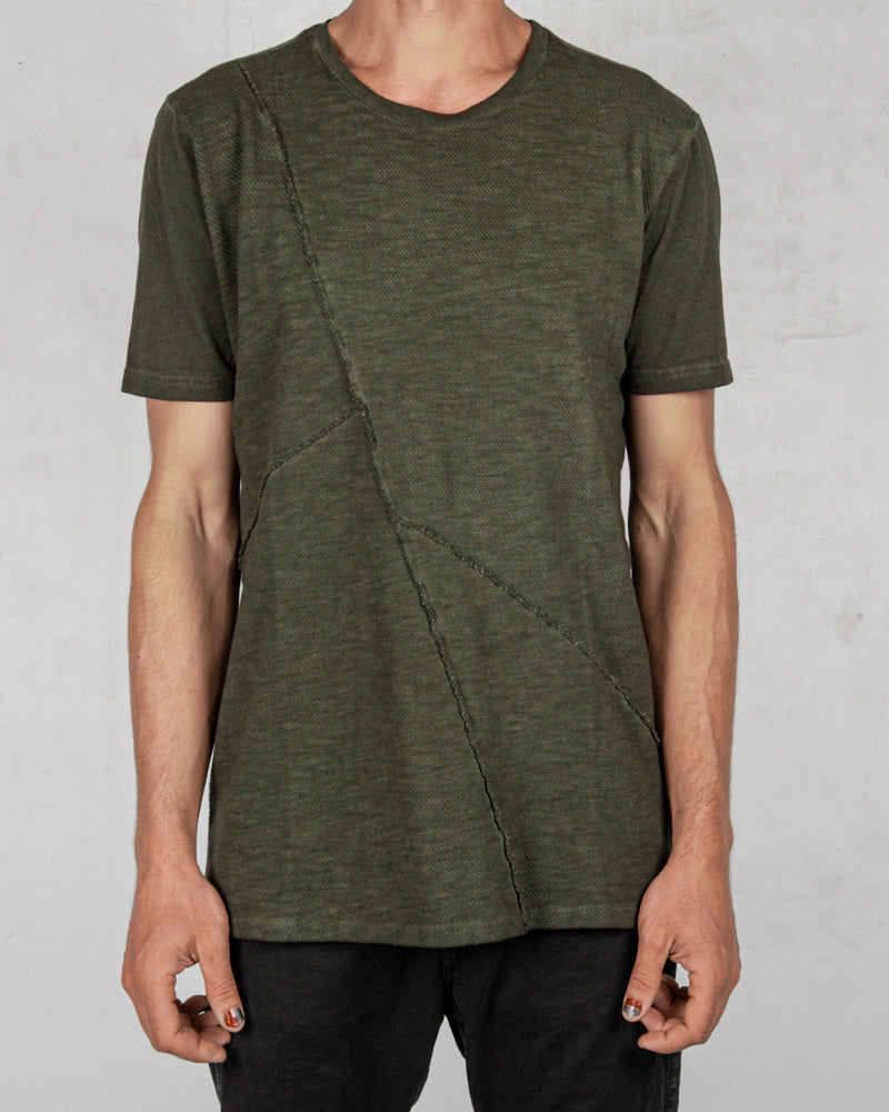 Xagon - Real cut tshirt military green - Stilett.com