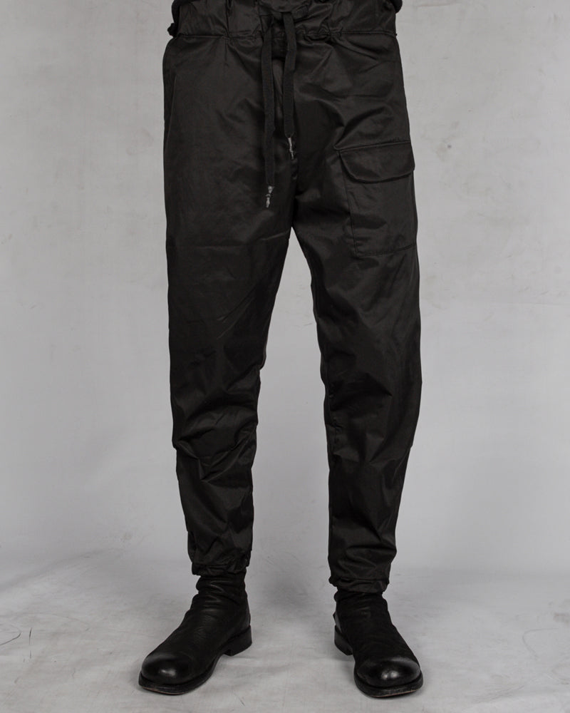Regular fit drawstring trousers