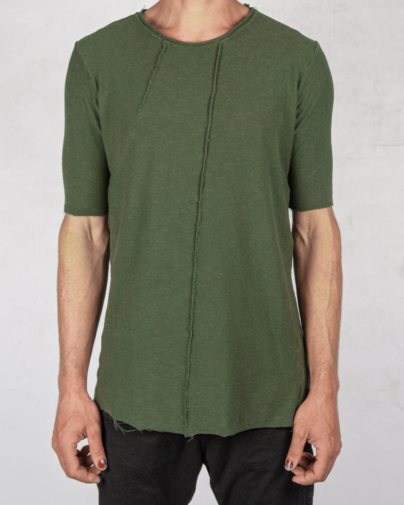 Xagon - Regular fit real cut tshirt green - Stilett.com