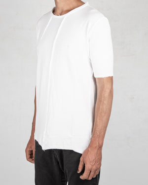 Xagon - Regular fit real cut tshirt white - https://stilett.com/