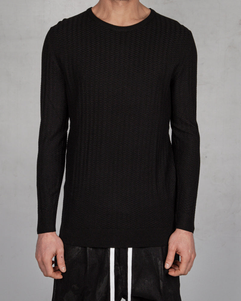Xagon - Regular fit sweater - https://stilett.com/