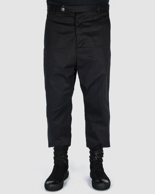 Xagon - Cropped deep crotch pants - Stilett