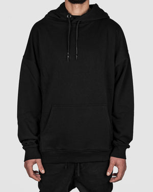 xagon - Oversize Sweatshirt Hoodie black - https://stilett.com/