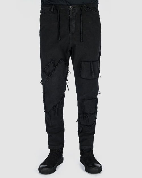 Xagon - Patchwork pants - Stilett.com