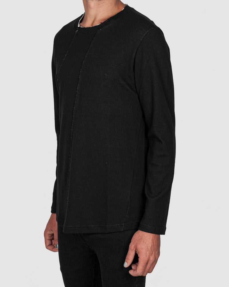 Xagon - Regular fit contrast cotton sweater - Stilett.com