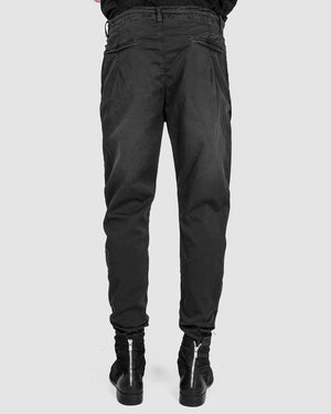 Xagon - Regular fit cotton trousers - https://stilett.com/