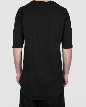 Xagon - long tshirt black - https://stilett.com/