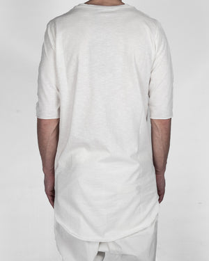 Xagon - long tshirt white - https://stilett.com/