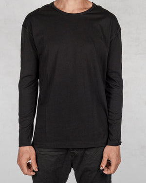Xagon - Regular fit long sleeve black - https://stilett.com/
