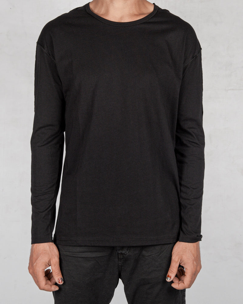 Xagon - Regular fit long sleeve black - Stilett.com