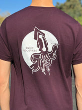 Burgundy Squid Industries Flipping Squid V2 T-Shirt (Limited Edition Color!)
