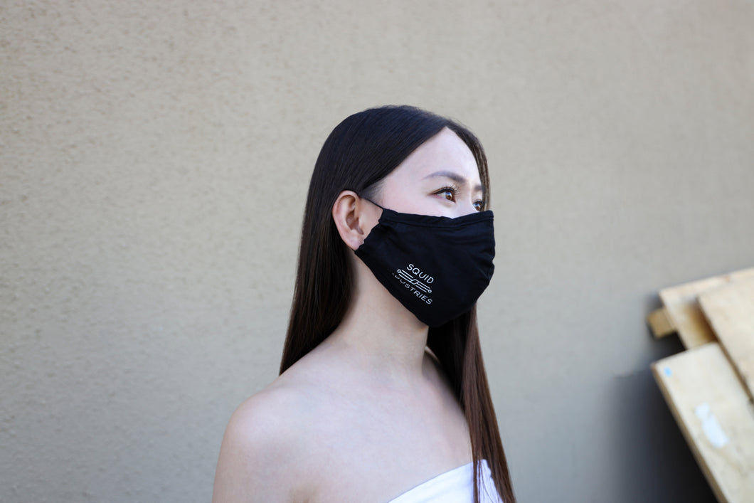 Reusable Squid Industries Logo Adjustable Face Mask