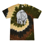 Rhino on Camo Swirl Multi Color