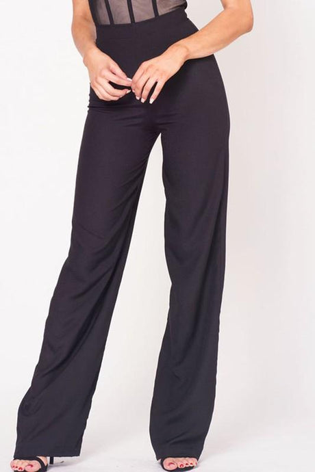High Waist Bell Bottom Pants