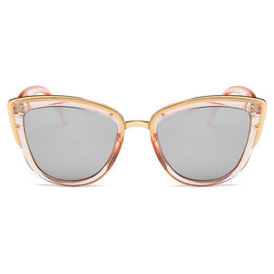 CHESTER | S1005 - Women's Vintage Retro Oversized Cat Eye Sunglasses