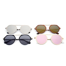 Load image into Gallery viewer, DRESDEN | A19 - Modern Flat Top Slender Round Sunglasses