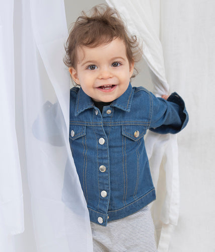 Embroidered Babybugz Denim Jacket bychalyan