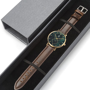 ByChalyan Quartz Watch (Rose Gold with Indicators)
