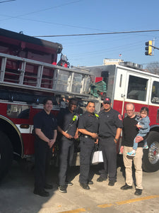 Donating Firefighter Pens