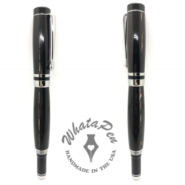 Water Buffalo Horn Twist Cap Pen