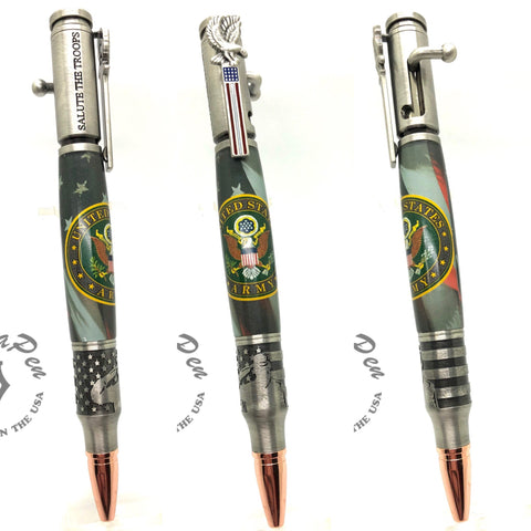 ARMY Salute the Troops Bolt Action Pen