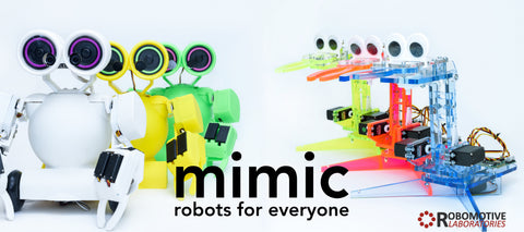 mimic robots for everyone
