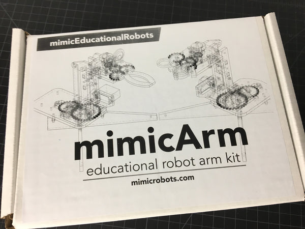 mimicArm retail packaging