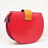 Sac demi-lune / The half-moon bag (Rouge,red)