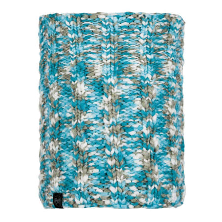 Buff Knitted and Polar Neckwarmer Livy Aqua