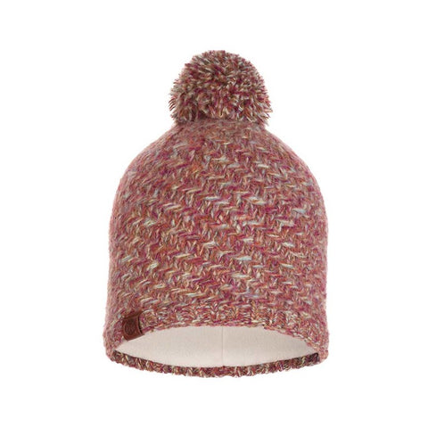 Buff Knitted and Polar Hat Agna Multi