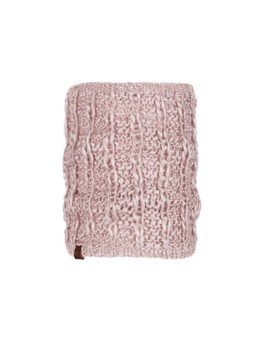 Buff Knitted and Polar Neckwarmer Liv Coral Pink