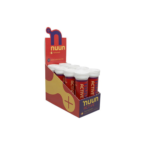Nuun Active Fruit Punch Caja 8pz