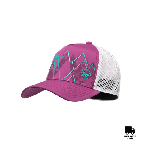 Buff Trucker Tech Cap Violet