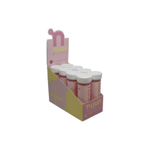 Nuun Active Strawberry Lemonade Caja 8pz