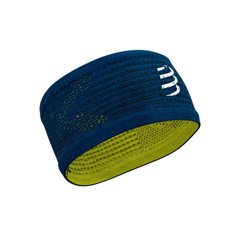 Compressport Headband Seamless On/Off BlueLime