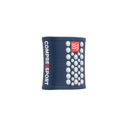 Compressport Sweatbands 3D Dots Blue