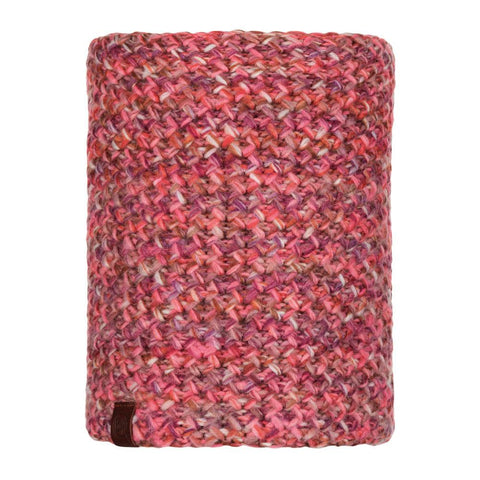 Buff Knitted and Polar Neckwarmer Agna Multi