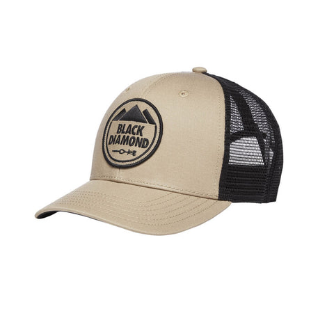 Black Diamond Trucker Hat Dark Cley-Anthracite