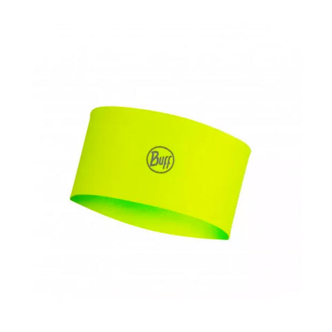 Buff Coolnet UV+ Headband Solid Yellow Fluor