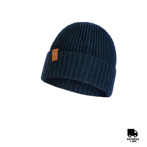 Buff Knitted Hat New Biorn Night Blue-