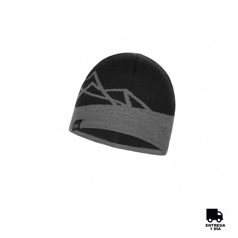 Buff Knitted and Polar Hat Yost Black-