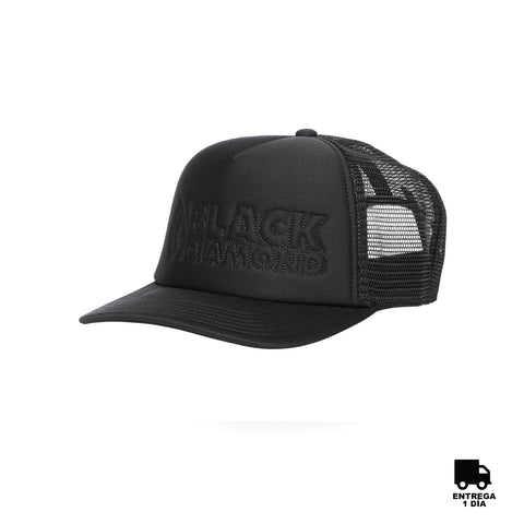 Black Diamond Flat Trucker Hat